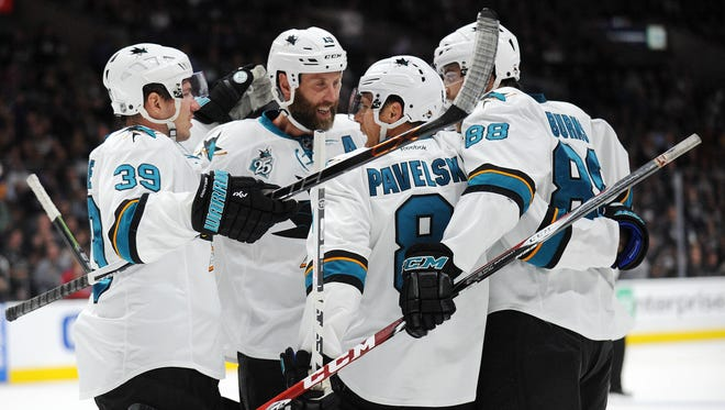 The San Jose Sharks have scored seven goals, while giving up one in two games this season.