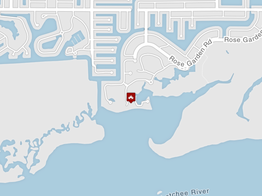 Fire crews are investigating a boat fire off Tarpon Point Marina, 6061 Silver King Blvd, in Cape Coral