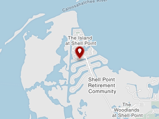 Two men were rescued after their boat ran ran aground Monday near Shell Point Marina