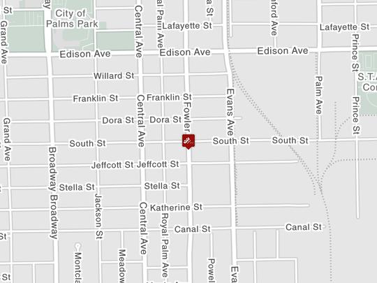 A crash has closed Fowler Street between Edison Avenue