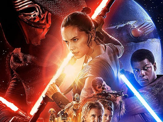 """Star Wars: The Force Awakens"" will be featured during"