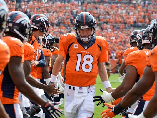 USP NFL: BALTIMORE RAVENS AT DENVER BRONCOS S FBN USA CO