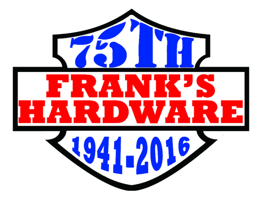 Frank's Hardware will hold a 75th anniversary celebration on Saturday, June 25, 2016.