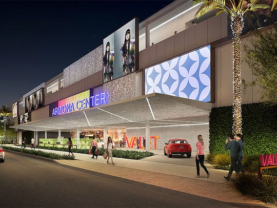 The  $25 million makeover of the Arizona Center in