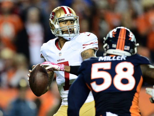 NFL: San Francisco 49ers at Denver Broncos