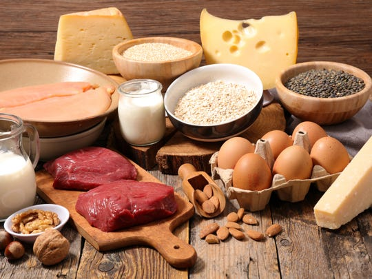 Protein can be consumed in many forms.