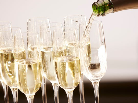 Champagne and sparkling wines are key to any New Year's celebration.