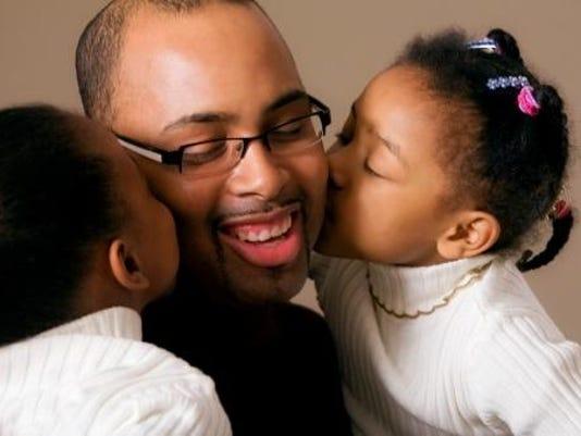 Dad 2 kids
