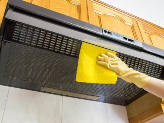 While this may be an often overlooked area, it is very important to clean your kitchen exhaust hood and clean or replace the filter.