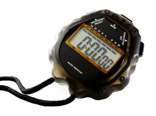 Track stopwatch