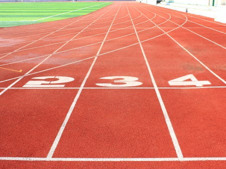 Outdoor track and field