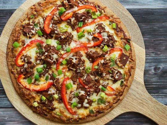 The Jackfruit Company's BBQ flavor can be used on a  pizza. Find more recipes on how to use the versatile fruit on thejackfruitcompany.com.