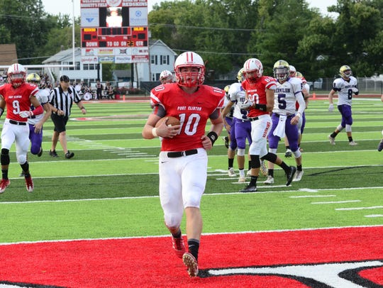 Port Clinton's Joe Brenner already has a connection
