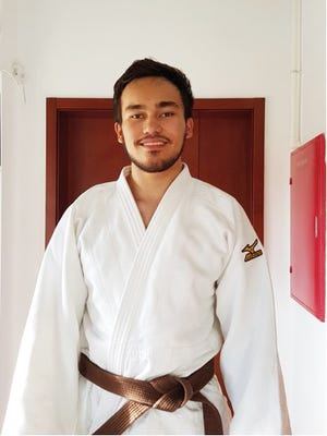 Taylor Whitt lost his opening match and fought again in the repechage, gaining valuable experience in international judo.