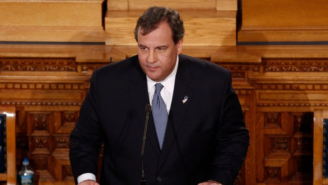 New Jersey Gov. Chris Christie.