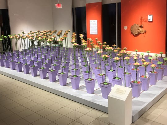 Floribots on exhibit at the Morris Museum this Mother's Day