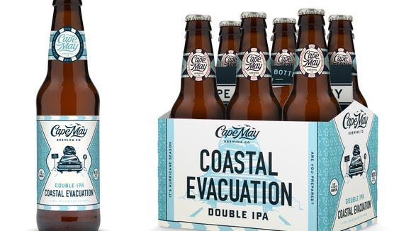 Getting a jump on hurricane season with Cape May Brewing Company's Coastal Evacuation? The beer packaging has a new look.