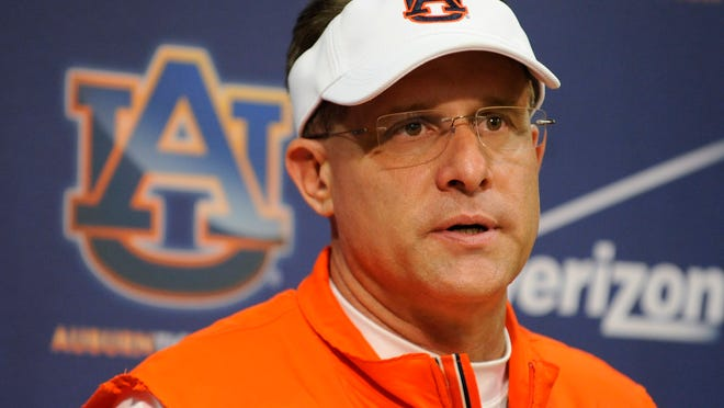 Auburn coach Gus Malzahn expects to close strong on National Signing Day today.
