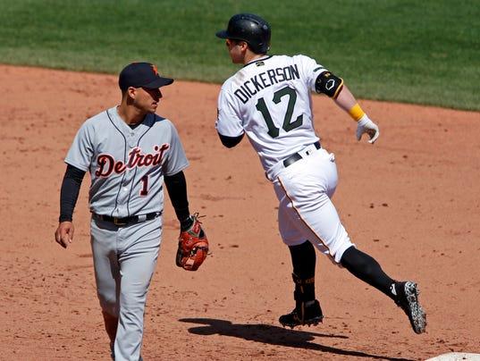 Corey Dickerson, Jose Iglesias