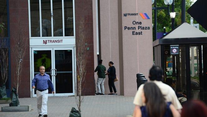 NJ Transit headquarters in Newark.