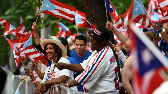 The sixty-first annual National Puerto Rican Day Parade was held on Sunday, June 10, 2018 along Fifth Ave. in New York City.