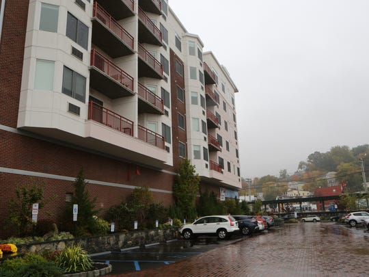 The exterior of Harbor Square in Ossining, Oct. 21, 2016.