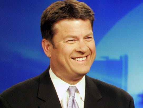 Former WXYZ anchor Stephen Clark, pictured in 2005.