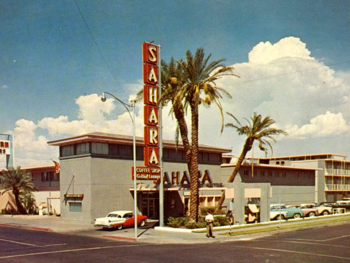 THEN: The Sahara Motor Inn opened at First and Polk