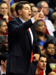 New Jersey Institute of Technology head coach Jim Engles
