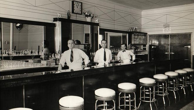 The Intermission bar was opened as The Admiral by Clyde Weir in 1940.