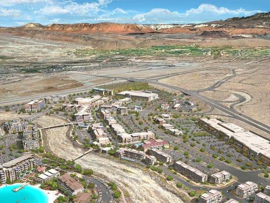 Desert Color renderings