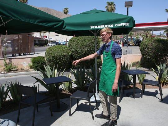 Starbucks employee Kurt Vaughn explains how he gave