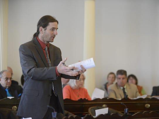 Sen. David Zuckerman, P-Chittenden, believes even small