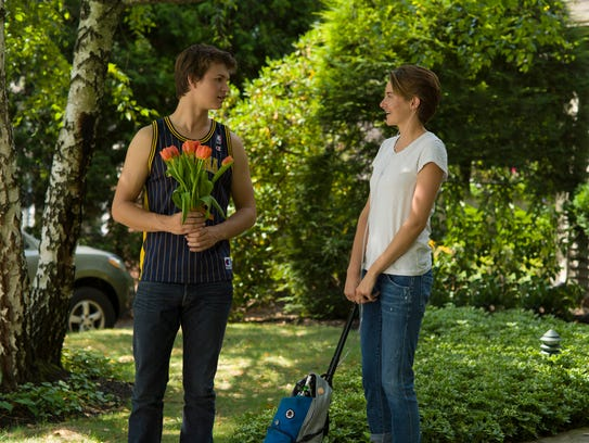 Gus (Ansel Elgort) and Hazel (Shailene Woodley) are