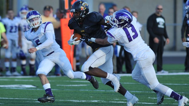 Avon's Sampson James had another big night for the Orioles in their win over rival Brownsburg.