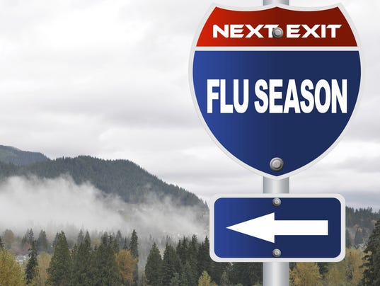 Flu may be on its way out of Monroe County. (Photo: Getty Images