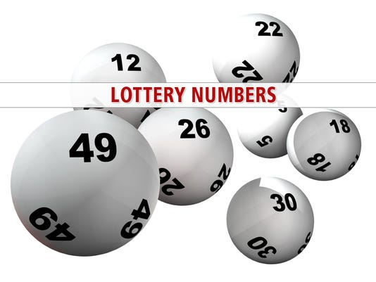 Lottery results for Friday, January 1, 2016