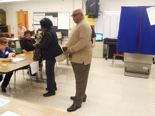 Voting in the Delaware Senate District 10 race takes