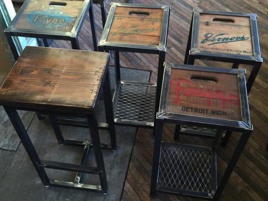 Hudson Industrial pieces