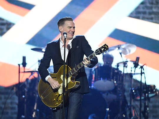 CALGARY, ALBERTA - APRIL 03:  Bryan Adams performs at the 2016 Juno Awards at Scotiabank Saddledome on April 3, 2016 in Calgary, Canada.  (Photo by George Pimentel/Getty Images)
