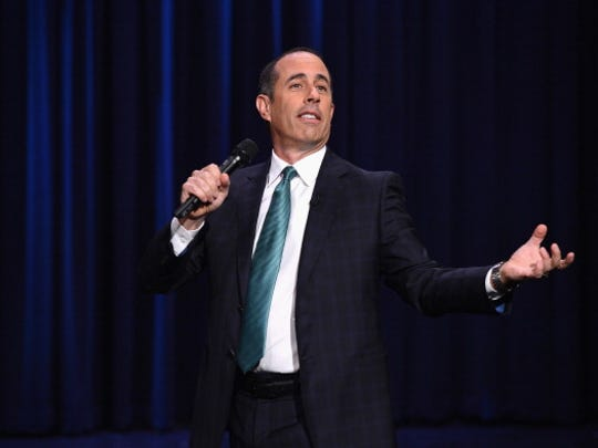 Comedian Jerry Seinfeld will perform at 7 p.m. July 28 at the Abraham Chavez Theatre, in El Paso. Tickets range in price from $50 to $125 plus fees and are available through Ticketmaster outlets, www.ticketmaster.com and 800-745-3000.
