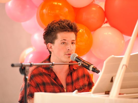 LOS ANGELES, CA - SEPTEMBER 09:  Charlie Puth performs during Spotify's original podcast Showstopper celebrates Outstanding Music Supervision on September 9, 2017 in Los Angeles, California.  (Photo by John Sciulli/Getty Images)