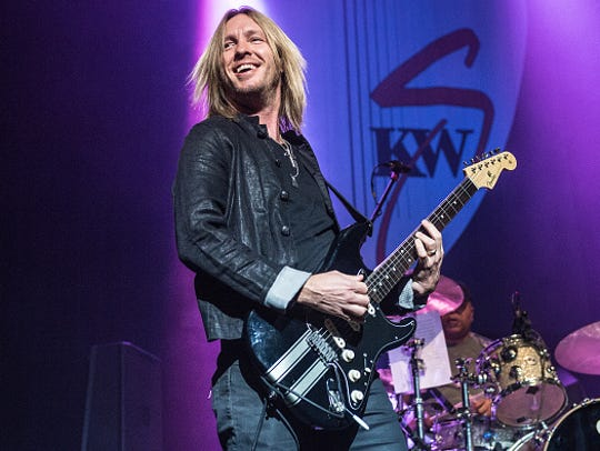 Kenny Wayne Shepherd performs Oct. 28. 2017, in London,