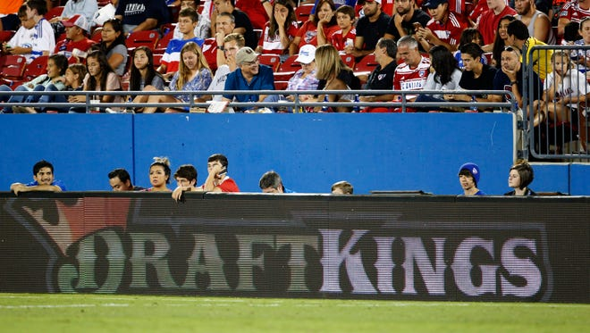 DraftKings has been aggressive in its advertising campaigns, including signage at MLS games.