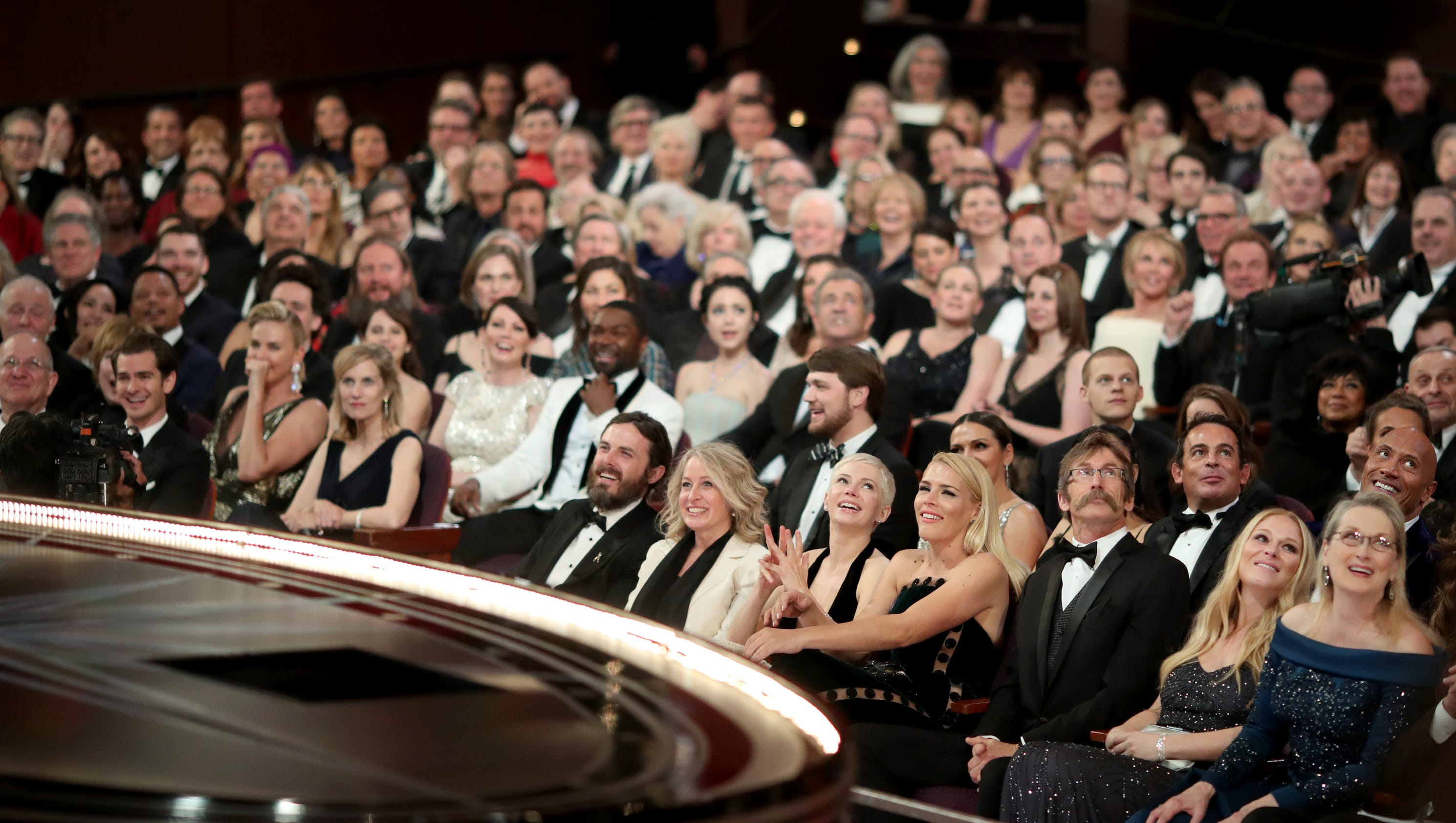 See Priceless Photos Of The Oscars Audience Reacting To