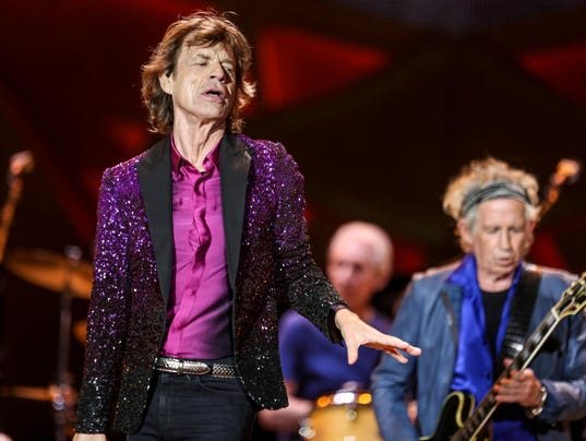 Mick Jagger, Charlie Watts, Keith Richards, The Rolling Stones