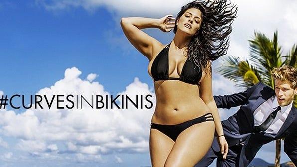 Ashley Graham is the new face of #curvesinbikinis.