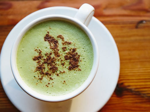 In Chicago, Beatrix serves a Maple Matcha Cinnamon