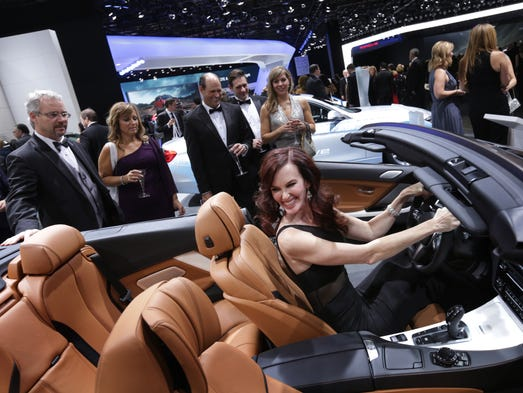 A Look Inside The 2016 Detroit Auto Show Charity Preview