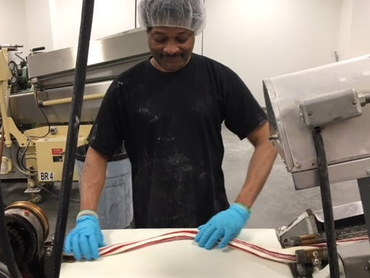 Tony Sherman, of Westwood, shows us the ropes – the